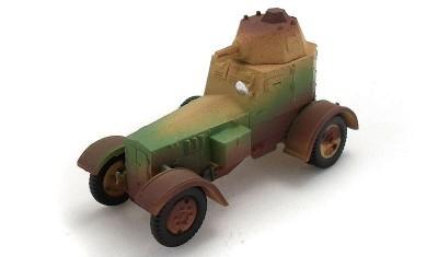 готовая модель бронеавтомобиля wz.34 II