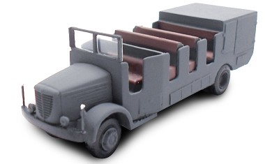 готовая модель автобуса Kfz.415 Bussing NAG 500A