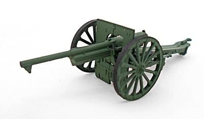 готовая модель пушки Field Cannon 75mm Schneider