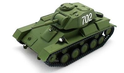 готовая модель танка Т-80