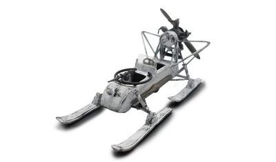 готовая модель Аэросани РФ-8