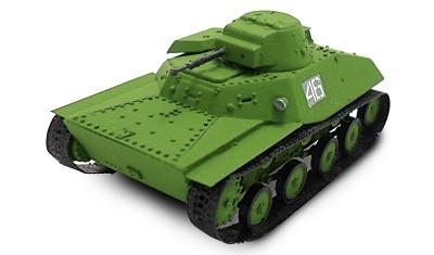 готовая модель танка T-30