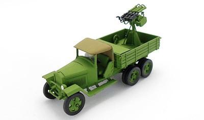 готовая модель грузовика ГАЗ-МММ / 4М