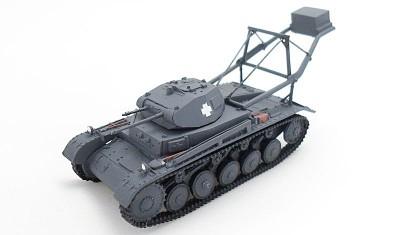 готовая модель танка Pz.Kpfw. II Landungsleger