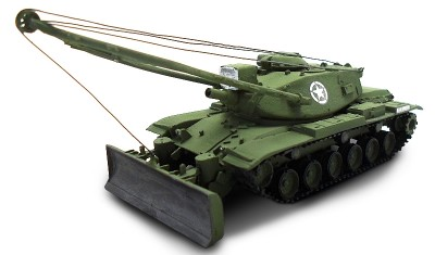 diecast tank M728 Recovery Vehicle