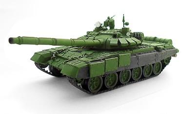 готовая модель танка Т-72Б3