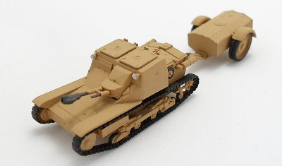 готовая модель танка L3/33 Flame Tank