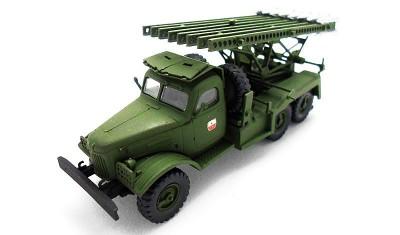 готовая модель грузовика BM13-16