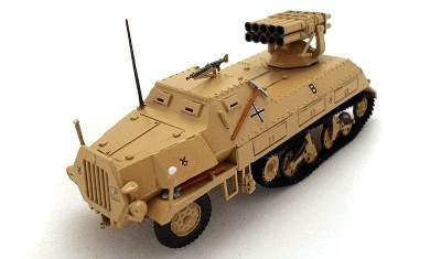 готовая модель бронеавтомобиля Sd.Kfz.4/1 (130mm)