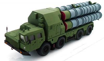 diecast military vehicle 5P85S