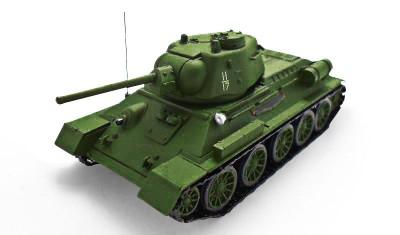 diecast tank T-34-76 (1943)