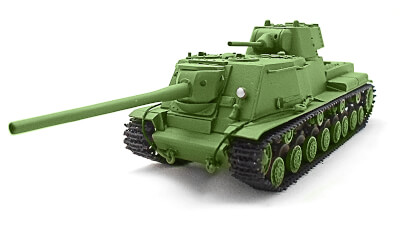 diecast tank KV-4 pr. Prashutina