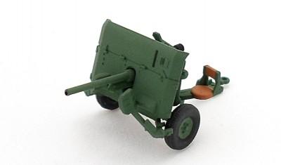 готовая модель пушки 40mm QF-2