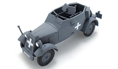 готовая модель бронеавтомобиля Kfz.13