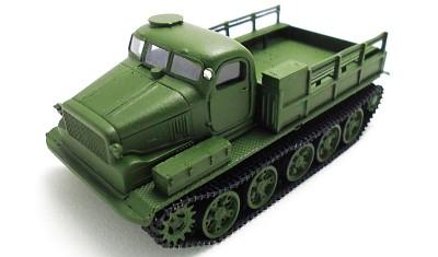 готовая модель танка AT-T