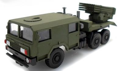 готовая модель грузовика WR40-Langusta