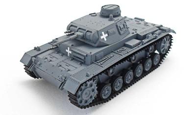 diecast tank Pz.Kpfw. III Ausf. E