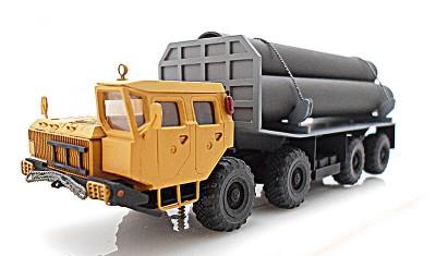 готовая модель грузовика МАЗ-543 Трубовоз