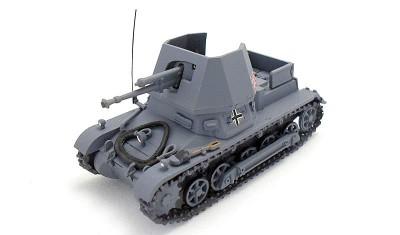 готовая модель танка Panzerjager-I 4.7mm PAK