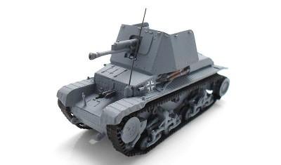 готовая модель танка PzJag 35(t) 4.7cm