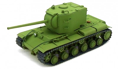 diecast tank KV-2 with ZiS-6