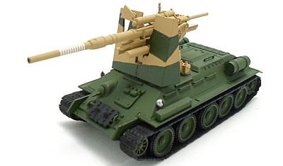 diecast tank T-34 / Flak.36/37
