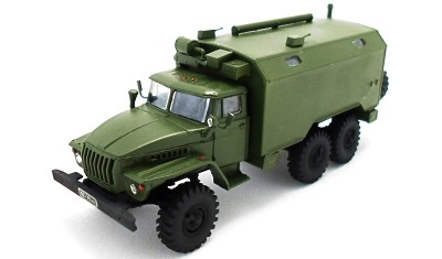 готовая модель грузовика Урал 43203