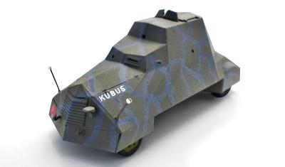 готовая модель бронеавтомобиля Kubus