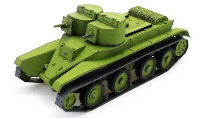 diecast tank BT-4