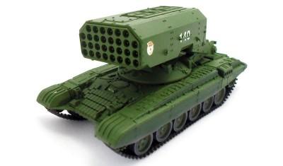 готовая модель танка ТОС-1 Буратино