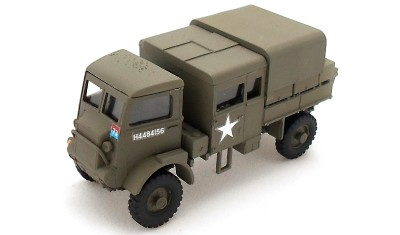 готовая модель грузовика Bedford QLB