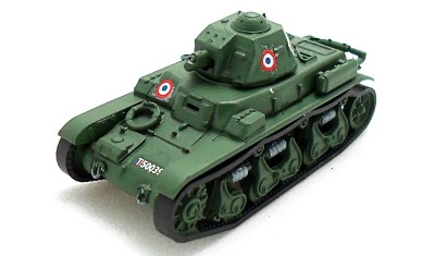готовая модель танка R-35