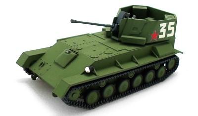 готовая модель танка ЗСУ-37 (1943)