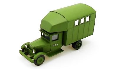 diecast truck PARM-1