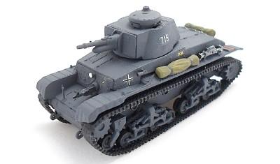 готовая модель танка PzKpfw.35(t)