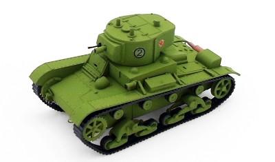 готовая модель танка OT-130