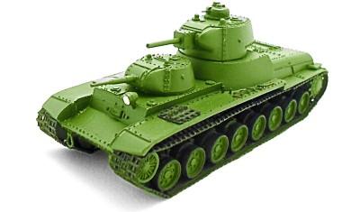 готовая модель танка T-100/Л-11