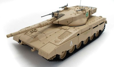 готовая модель танка Merkava I