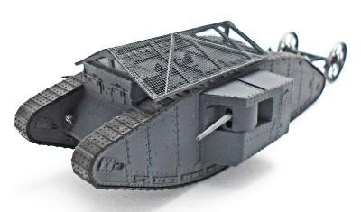 diecast tank Mk.I Male