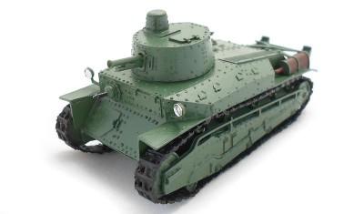 готовая модель танка Type 89A Chi-Ro