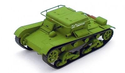 готовая модель танка Т-26ТН