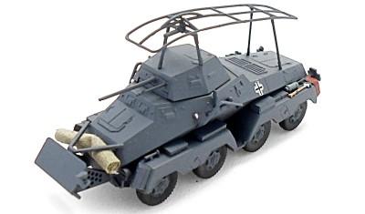 готовая модель бронеавтомобиля Sd.Kfz.232