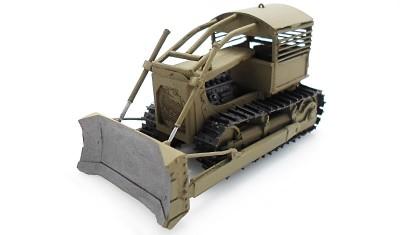 готовая модель танка Bulldozer D-7