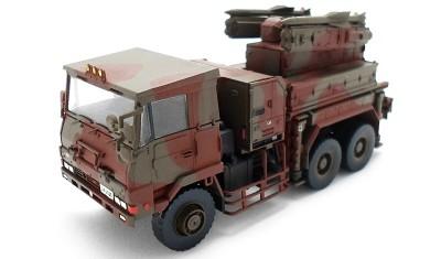 готовая модель грузовика Rocket equipment vehicle 1