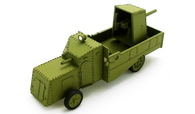 diecast military vehicle Mannesman Mulag