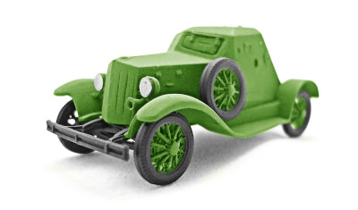 diecast military vehicle D-8