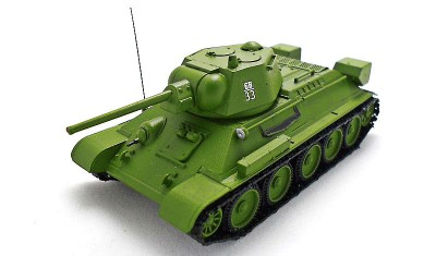 diecast tank T-34-76 (1942)