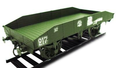 готовая модель железнодорожной платформы г/п 20т
