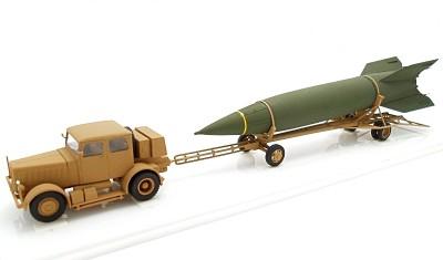 готовая модель грузовика V-2 Hanomag SS-100