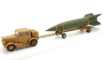 diecast truck V-2 Hanomag SS-100